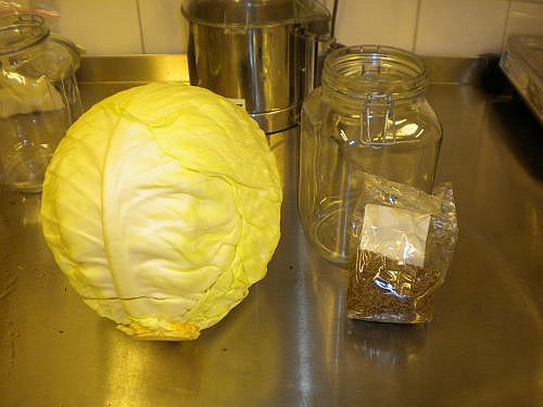 Cabbage and cumin