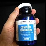 probiotics supplement bottle