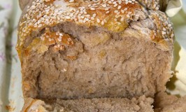 Sourgough bread loaf