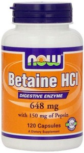 Now foods betaine